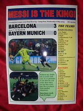Barcelona 3 Bayern Munich 0 - 2015 Champions League semi-final - souvenir print