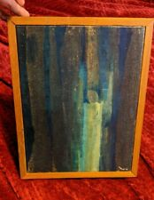 MCM Frank Fujii Abstract Oil Painting Seattle Washington Influential Teacher
