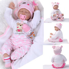 New Real Looking Soft Silicone Lifelike Baby Doll Girl Preemie Handmade Cute