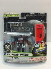 Transformers Optimus Prime 3D Limited Edition Preview Pack 2010