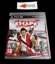 ESCAPE DEAD ISLAND Sony Playstation 3 PS3 Play Station 3 PAL-España Nuevo
