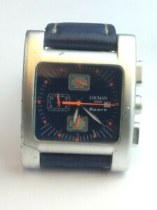 Locman Italy Sport R.428 Mens Watch with Blue Strap Available Worldwide