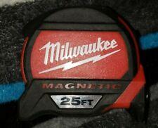 MILWAUKEE 25 FT MAGNETIC TAPE MEASURE