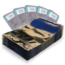 (50) 1 Quart Seal Top Mylar Foil Bags + (50) 300cc Oxygen Absorbers + Ltfs Guide