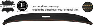 BEIGE STITCH TOP DASHBOARD REAL LEATHER COVER FITS TRIUMPH SPITFIRE MK3 67-70