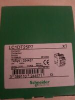 SCHNEIDER ELECTRIC LC1DT25P7 / LC1DT25P7 230v (NEW IN BOX)