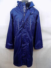 Ƹ̵̡Ӝ̵̨̄Ʒ Fila Long Blue Chicago Quilted Jacket Coat UK Size XL Ƹ̵̡Ӝ̵̨̄Ʒ