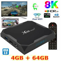 2020 X96 MAX+ 4GB+64GB Android 9.0 TV Box Amlogic S905X3 2.4/5Ghz Dual WIFI BT