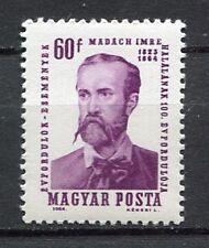 32189) HUNGARY 1964 MNH** Imre Madach 1v Scott# 1578