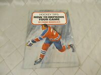 Frank Mahovlich Hockey Tips Booklet Mac's Milk 1970s Canadiens Improve Your Game