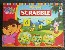 Dora the Explorer MY FIRST SCRABBLE - Educational Word Game - 100% Complete