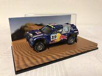 Minichamps 1:43 VW Race Touareg Geschenk Modellauto Modelcar Scale Model Sammeln