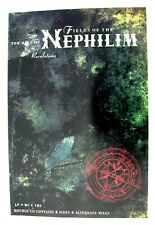 FIELDS OF THE NEPHILIM Revelations Best Of 1992 UK promo Poster Mint- ORIGINAL!