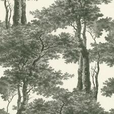 Black and White Trees Wallpaper Paste the Wall Toile de Jouy Landscape 605419