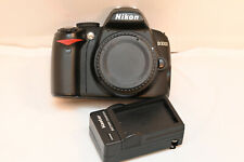 Nikon D D3000 10.2MP Digital SLR Camera - Black (Body Only) 8,628 SHUTTER COUNT