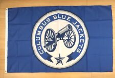 Columbus Blue Jackets 3x5 ft Flag Banner