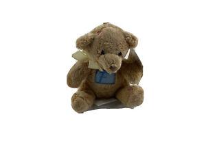 "Russ With Love Bears 4"" Teddy Bear Stuffed Plush Keychain Letter F"