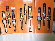SWATCH BOX HONOUR AND GLORY (9 OLYMPIC Swatch Watches) Special, LTD 30K Pcs!