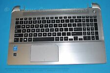 TOSHIBA Satellite S55-B5155 Laptop Palmrest w/ TouchPad + Keyboard