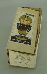 ORIGINAL 1968 BALTIMORE COLTS FOOTBALL BOBBLE HEAD NODDER EMPTY DISPLAY BOX