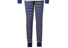 John Lewis Children's Stripe Pyjama Bottoms Blue/White Age 12 Years
