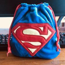 Super man cool handbag drawstring storage bag makeup bags Phone holder