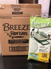 Tidy Cats Breeze Cat Pads, 4 count, 10 pack