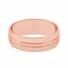 Band Natural Rose Gold Fine Rings