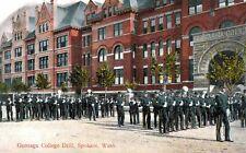 Spokane,Washington,Gonzaga College,Drill,c.1909