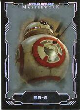 Star Wars Masterwork 2016 Silver Base Card #43 BB-8