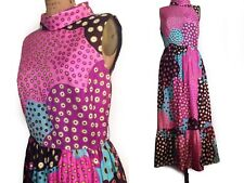 1960 Dupuis JACK BRYAN Mod maxi Sleeveless Dress-M/L