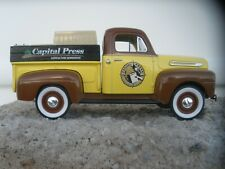 "NIB '48 FORD F-1 PICKUP BANK - ""CAPITAL PRESS NEWSPAPER"" - LIMITED EDITION"