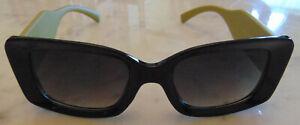 Chanel Green/Blk sunglasses women