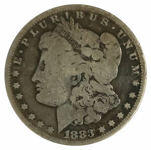 1883 CC Morgan Silver Dollar - Circulated