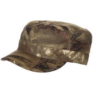 Hunter Field Cap Patrol Hat Fishing Hiking Rip Stop Real Tree Brown Camo S-XXL