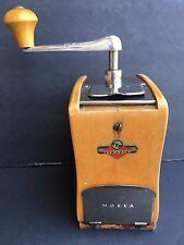 Vintage Antique Kym Mokka Wooden West German Coffee Mocha Bean Grinder