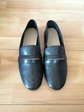 Womens ALDO Black Loafer Shoes- Size 5 /38