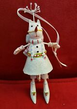 Krinkles Patience Brewster Snow Cat Girl Ornament Dept 56