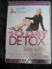 Michael Van Straten's 10 Day Detox With Kim Wilde (DVD, 2004) New Sealed.