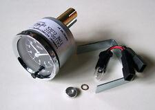 Genuine Smiths 12V Classic Car Clock with Chrome Bezel & Black Face, GAE128