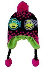 Teenage Mutant Ninja Turtles TMNT Pink & Black Peruvian Hat - Size 4-16 - NWT