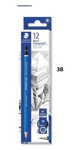 Staedtler Mars Lumograph Graphite Pencil 3B - 1 DOZEN