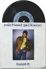 "MICHAEL JACKSON  7"" BEAT IT UK Original 1983 UK Sleeve / Burn The Disco Down"