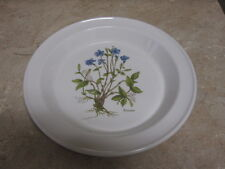 Portmeirion Pottery - Stoke on Trent - made in England - Pervinca Pie Plate PRT7