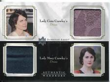 DOWNTON ABBEY SEASON 1&2 DOUBLE WARDROBE CARD LADY CORA / MARY CRAWLEY DW02