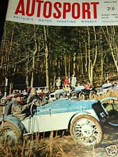 JENSEN CV8 MARK 3 TEST 10000 MILES SUNBEAM TIGER 1966 RARE TEST