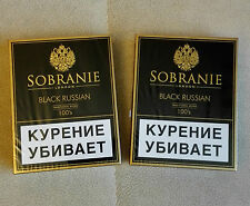 Sobranie Black Russian 2 x 20 Filter Cigarettes