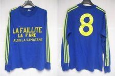Maillot A.C ARLES porté n°8 ADIDAS vintage manches longues shirt 1976 trikot M
