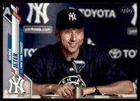 2020 Update Base Variation SP #U-257 Derek Jeter - New York Yankees