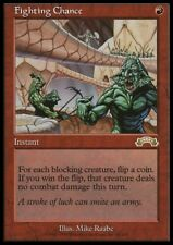 MTG 1x FIGHTING CHANCE - Exodus *RARE Prevent NM*